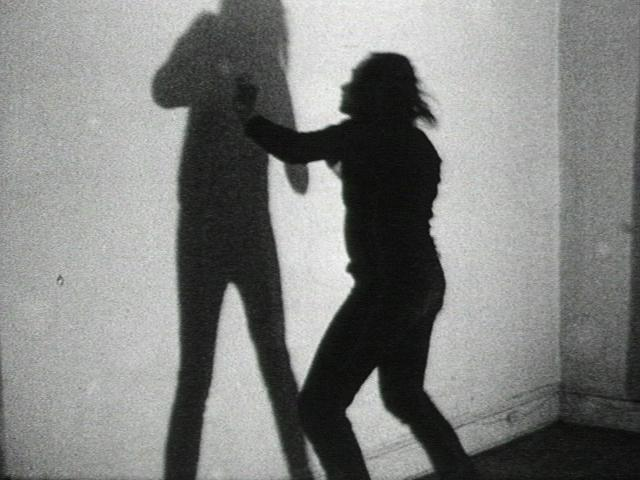 Vito Acconci Three Relationship Studies Manipulations Imitations Shadow Play