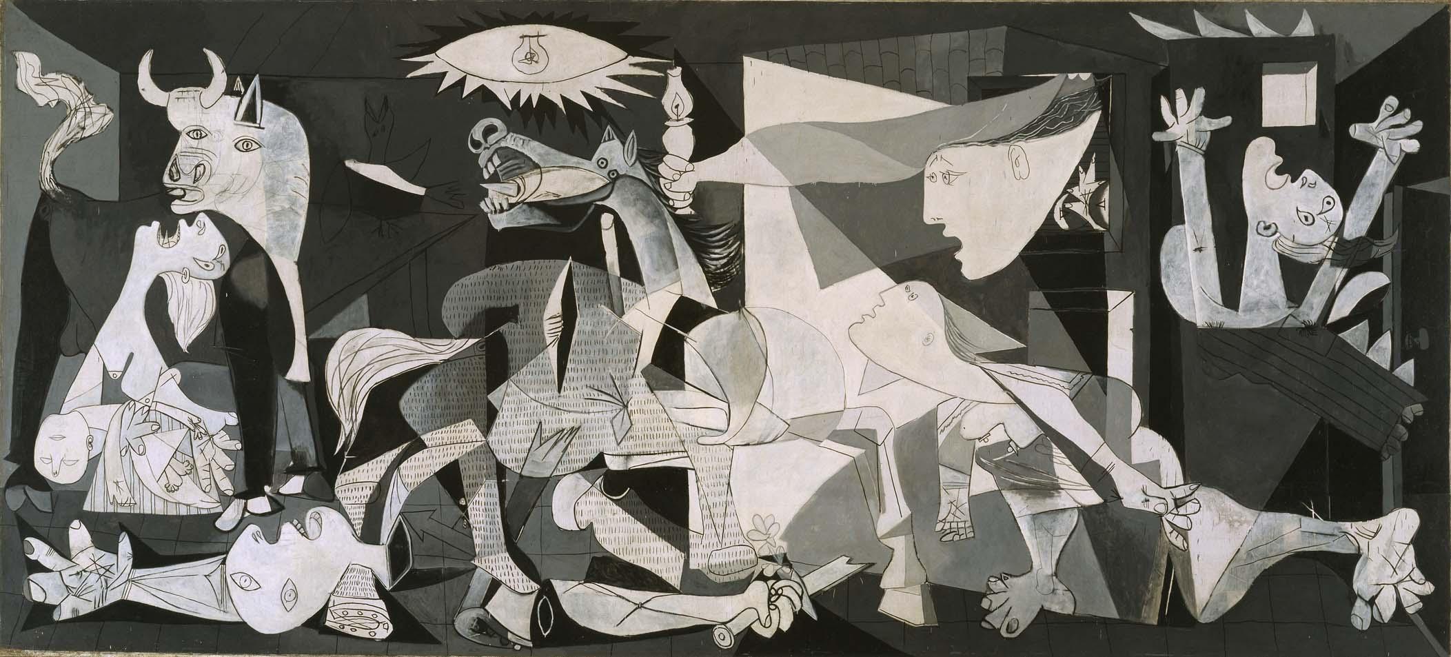 Pablo Picasso (Pablo Ruiz Picasso) - Guernica