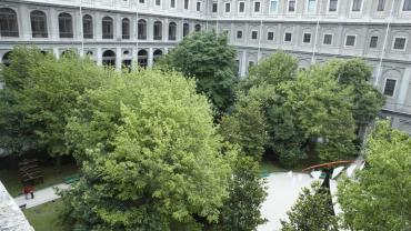 Museo Reina Sofía Sabatini Jardín