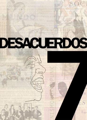 Portada de Desacuerdos 7. Sobre arte, políticas y esfera pública en el Estado español. Cuaderno 7.