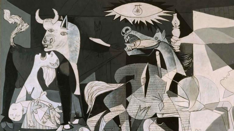 Pablo Picasso, Guernica (detalle), 1937