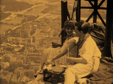 René Clair. Paris qui dort [Paris dormido]. Película, 1928. (c) Fondation Jérôme Seydoux-Pathé