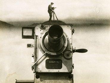 Dziga Vertov. El hombre de la cámara. Película, 1929. Fuente Colección EYE Filmmuseum