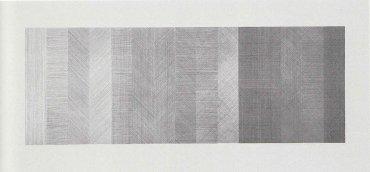 Lucio Fontana. Concetto spaziale (Concepto espacial), 1950. Acrílico sobre lienzo, 69,5 x 99,5 cm