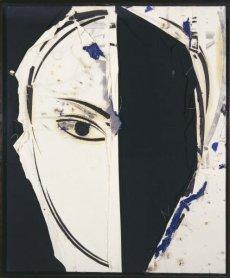 Manuel Valdés. Retrato de Jackie, 2000. Óleo sobre arpillera, 231 x 190 cm