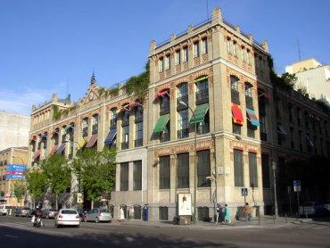 Fachada de La Casa Encendida, 2011.