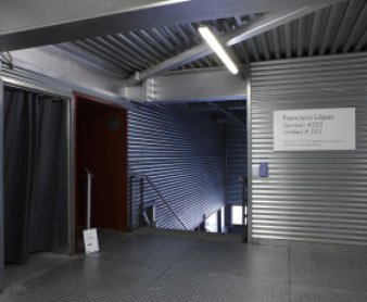 View ofSin título #223, sound installation by Francisco López at Museo Reina Sofía, 2010