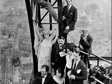 René Clair, Paris qui dort [París durmiente], película, 1925