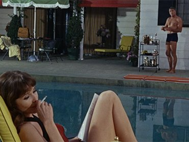 Frank Perry. The Swimmer (El nadador). Película, 1968, VOSE, color, 95'
