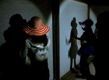 Actuando en el taller entre luces y sombras