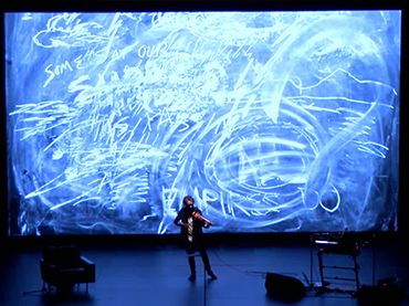 Laurie Anderson. The Language of the Future. Performance realizada en Transmediale, 2017