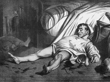 Honoré Daumier. Rue Transnonain,15 de abril de 1834
