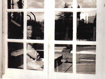 Carlos Osorio, Psiquátrico de Oviedo. La Cadellada, 1975. Cortesía de María Dolores Santalla