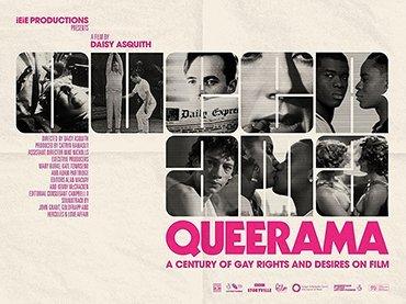 Cartel de la película Queerama, Daisy Asquith, Reino Unido, 2017