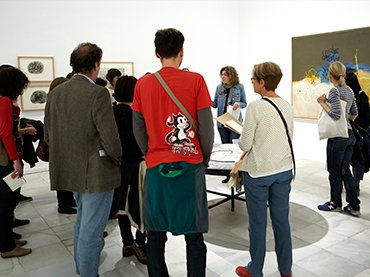 Sesión preparatoria para profesorado, Museo Reina Sofía