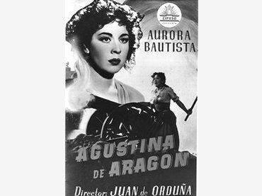Juan de Orduña. Agustina de Aragón. Película, 1950