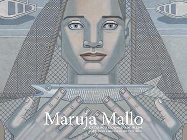 Cubierta del libro Maruja Mallo. Catálogo razonado de óleos, Fundación Azcona, 2021