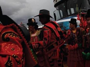 Fiesta de Todos los Santos. Departamento de La Paz, Bolivia (detalle). Fotografía: Dado Galdieri