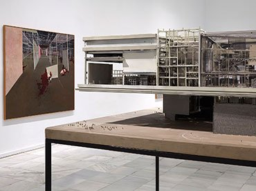 Exhibition view Constant. New Babylon (Museo Reina Sofía, October 21, 2015 - February 29, 2016)