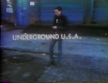 Eric Mitchell. Underground U.S.A. Video, 1980. Courtesy of Eric Mitchell