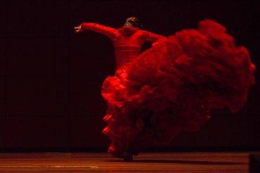 Tamar González en el Auditorio Nouvel. Asaltos de Danza, 2013. © Jesús Vallinas