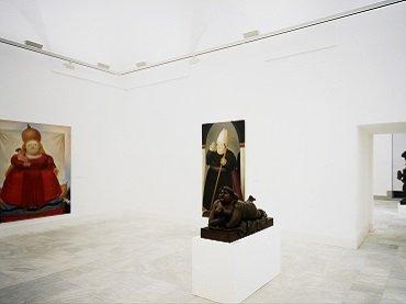 Exhibition view. Fernando Botero: Pinturas. Dibujos. Esculturas, 1987
