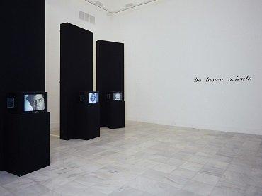 Vista de sala de la exposición. Marcel Odenbach, 1988
