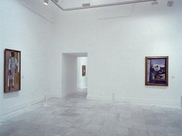 Exhibition view. Henri Matisse. Pinturas y dibujos de los museos Pushkin de Moscú y el Ermitage de Leningrado, 1988