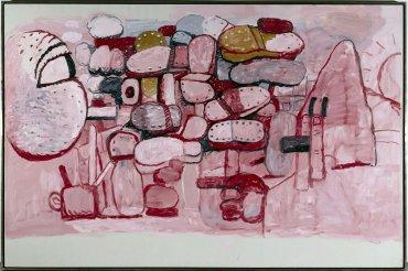 Philip Guston. Confrontation, 1974. Pintura. Colección Museo Nacional Centro de Arte Reina Sofía, Madrid