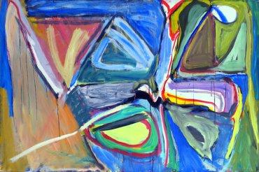 Bram van Velde. Composition, 1970. Óleo sobre lienzo. Museo de Bellas Artes de Bilbao
