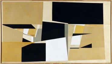Pablo Palazuelo. Otoños, 1952. Pintura. Colección Museo Nacional Centro de Arte Reina Sofía, Madrid