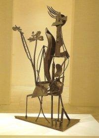 Pablo Picasso. Mujer en el Jardín, 1929-30. Sculpture. Museo Nacional Centro de arte Reina Sofía Collection, Madrid