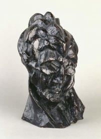 Pablo Picasso. Tête de femme (Fernande) (Cabeza de mujer [Fernande]), 1909. Escultura. Colección Museo Nacional Centro de Arte Reina Sofía, Madrid