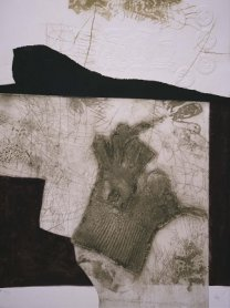 Antoni Clavé. Le gant de New York, 1975. Graphic Art. Museo Nacional Centro de Arte Reina Sofía Collection, Madrid