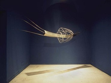 Exhibition view. Blanca Muñoz. El universo transparente, 2004