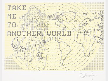 Charlotte Johannesson, Take me to another world, 1981-1986. Digital graphics. Courtesy of the artist