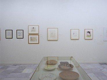 Vista de sala de la exposición. Cocteau y España, 2001