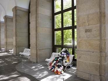 Vista de sala de la exposición. José Damasceno. Coordenadas y apariciones, 2008