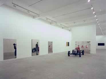 Exhibition view. Memory of the future. Italian art from early avant-garde to post-war, 1990