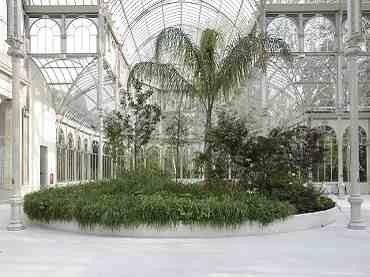 Vista de sala de la exposición. Pierre Huyghe. La estación de las fiestas/La saison des fêtes, 2010