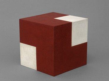 Willys de Castro. Objeto ativo (cubo vermelho/branco), 1962. Patricia Phelps de Cisneros Collection