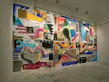 Vista de sala de la exposición. Abraham Lacalle. Un lugar donde nunca sucede nada, 2005
