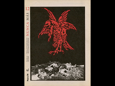 León Ferrari, Never Again. Cover of instalment No. 12, 2016