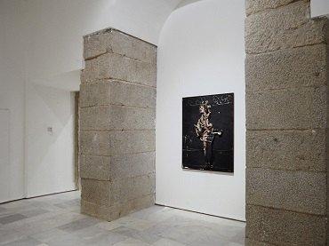 Vista de sala de la exposición. Manuel Millares, 1992
