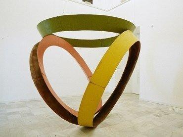 Bruce Nauman. Sin título (Modelo para zanja, pozo y túnel), 1978. Escultura. Colección Museo Nacional Centro de Arte Reina Sofía, Madrid