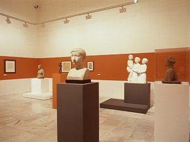 Vista de sala de la exposición. Joan Rebull. Años 20 y 30, 2003
