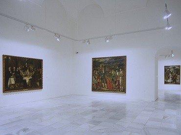 Vista de sala de la exposición. José Gutiérrez Solana. Colección Banco Santander, 1998