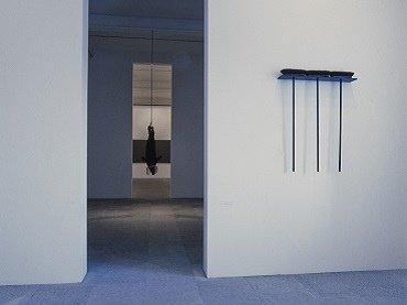 Vista de sala de la exposición. Rosemarie Trockel, 1992