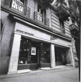 imagen de la fachada de la Galería Biosca