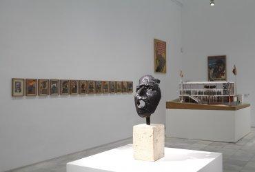 Vista de la Sala 206 de la Colección